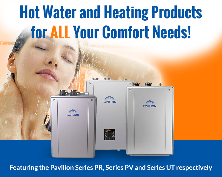 Hot Water and Heating Products Banner Square